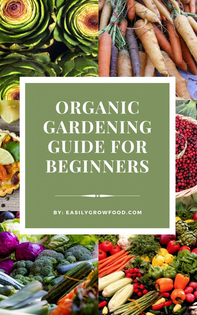 organic gardening guide for beginners